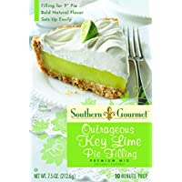 Southern Gourmet Outrageous Key Lime Pie Filling Mix, 7.5 Ounce (Pack of 6)