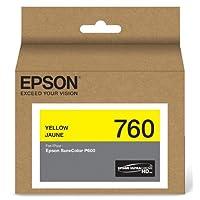 Epson UltraChrome HD 青色墨水 (T760220) 黄色