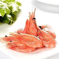 蓝雪 加拿大北极甜虾 2斤90+ 熟冻海虾 解冻即食 美味小食