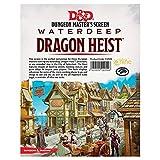 D&D: Dragon Heist: DM Screen Dungeons & Dragons - Waterdeep Heist GF9-73709