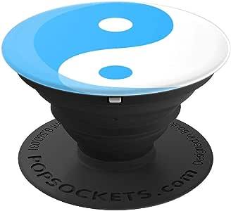 阴阳蓝 - PopSockets 手机和平板电脑抓握支架260027  黑色