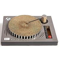 NANDOG 波纹纸板猫抓板刮板唱片机