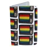 电视彩虹礼品卡夹和钱包