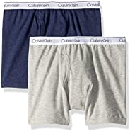 Calvin Klein Boys' Little Modern Cotton Assorted Boxer Briefs Underwear, Multi