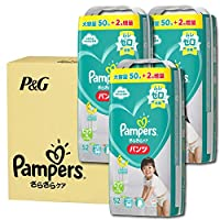 Pampers 紙尿褲 清爽護理 大號(12~22kg) 156片(52片X3)