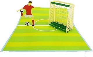 高尔夫生日贺卡 - 退休、祝贺、感谢、父亲节、母亲节、高尔夫爱好者| 流行卡片快递 Soccer Game Pop Up Card