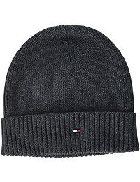 Tommy Hilfiger 汤米·希尔费格 男士针织帽 Pima棉羊绒无檐小便帽