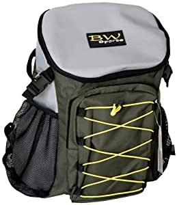 BW Sports Back Pack, Plenty Of Storage, Curved Padded Straps For Comfort, Easy Access External Mesh Pockets