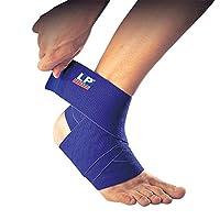 LP 美国欧比护具 护踝 694 创新波浪纹硅胶绷带 加压舒缓 透气舒适 可清洗 蓝色