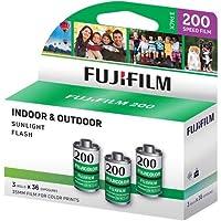 Fujifilm Fujicolor 200 彩色负面膜 ISO 200,35mm 尺寸,36 个曝光,CA-36 3 包