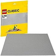 LEGO 乐高 拼插类 玩具 LEGO Classic 经典系列 经典创意灰色底板 10701 4-99岁 积木