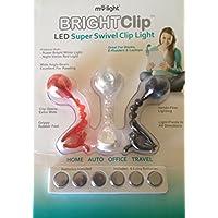 MyLight BRIGHTClip LED *旋转夹灯,(红色,白色,黑色)