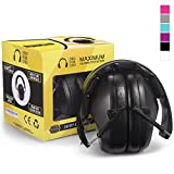Pro For Sho 34dB NRR Noise Reduction Ear Muffs 黑色