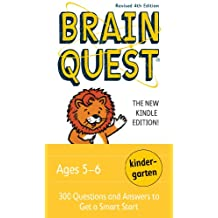 Brain Quest Kindergarten, revised 4th edition: 300 Questions and Answers to Get a Smart Start (Brain Quest Decks) (English Edition)