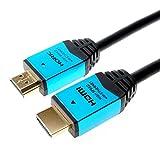 HORIC 高速HDMI电缆线 4K 3D HEC ARC 连接功能HDM15-893BL 金属模具 1.5m