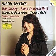 进口CD:柴科夫斯基:第一钢琴协奏曲\胡桃夹子\阿格里奇(CD)(4498162)