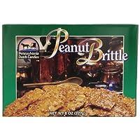 Pennsylvania Dutch Candies Peanut Brittle 花生零食,8盎司(236毫升)(4件装)
