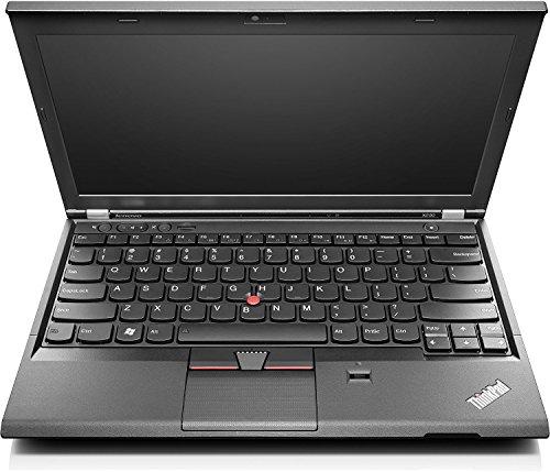 Lenovo 联想Thinkpad X230 31,75 cm (12,5英寸HD) 笔记本电脑 (英特尔酷睿i5, 4GB, 320GB, Intel HD 4000, 网络摄像头,Win10家庭版) 黑色