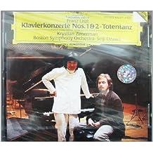进口CD:李斯特第一第二钢琴协奏曲(423 571-2)