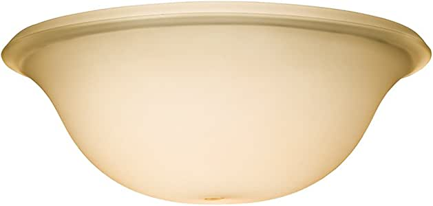 "Kichler 340013 Fan 通用碗玻璃 SECO 琥珀色 W 11"" x H 4"" 340014"