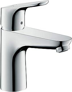 hansgrohe 汉斯格雅 Focus 福柯斯系列 面盆龙头 (高度100mm 带提拉式落水套件),镀铬