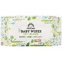mama bear 兒童濕巾 潔膚紙 純水 99% 80片×20 (1600片) 日本制