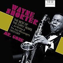 进口CD:爵士萨克管大师怀恩·肖特经典录音集 Wayne Shorter Mr·Gone:The Best of the Early Years (10CD)600098