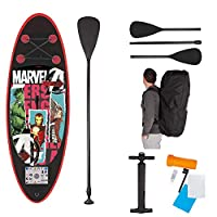 John 52502 Marvel Avengers 鋼鐵俠綠巨人雷神兒童 SUP 板套裝 立式槳 多色