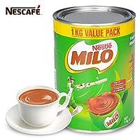 进口雀巢美禄Milo巧克力冲饮1000g罐装 朱可力代餐粉