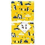 宫本 纱布面巾 KaSaNeTe 企鹅 34×90cm 05007