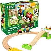 BRIO 布里奥 My First Railway 火车启蒙玩具套装