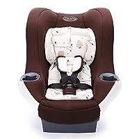 美国Graco 葛莱 儿童汽车安全座椅 悦旅系列 双向安装 EPP防震 棕色 0-4岁 8L399MRWN