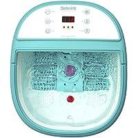 *水疗按摩器带加热 – *浸泡浴缸 6 个压力节点、按摩滚轮、振动、气泡 – 缓解**和*的压力