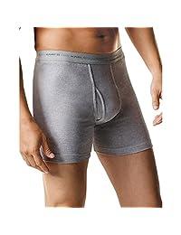 Hanes 男式 运动灵感 FreshIQ 四角紧身内裤