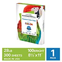 Hammermill Color Copy Digital Poly Wrap, 28lb, 8.5 x 11-inch Letter, 300 Sheets/ 1 Pack, (102700R) Made In The USA