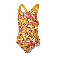 Speedo Girls Fusion 趣味全身泳衣