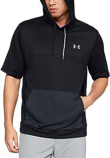 Under Armour 男式实用短袖罩衫连帽衫