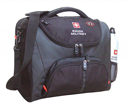 Swiss Military 22.3 liters Black Laptop Sling Bag