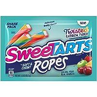 SweeTARTS Twisted Rainbow Ropes 共用包,3.5 盎司