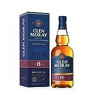 Glen Moray 格兰莫雷 斯佩塞单一麦芽威士忌15年陈酿700ml