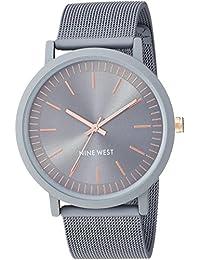 Nine WestNW/2166GYGY analog 不锈钢 灰色 NW/2166GYGY dress-watches