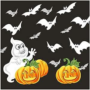 餐厅系列万圣节午餐尺寸餐巾纸 Ghost & Bats 20份 24255