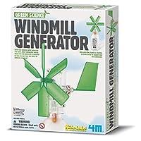 4M 环保科学系列 STEM科学益智玩具 风力发电站