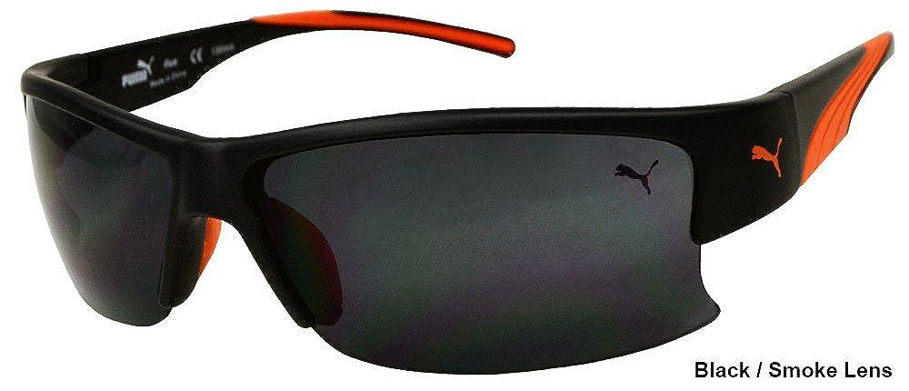 381614f3930c3 Puma Sunglasses Flux PU15144 15144 BK Black Shades-服饰箱包-亚马逊中国