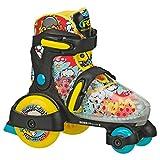 轮滑阻抗赛 FUN 卷男童可调节滚筒 Skate