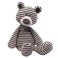 GUND Zag可爱毛绒泰迪熊玩具-高16 英寸(41cm)(亚马逊进口直采,美国品牌)