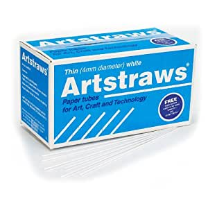 artstraws 学生包(薄白色 )