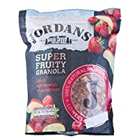JORDANS 巧丹思 格兰诺拉蜂蜜混合水果燕麦片550g(英国进口)(亚马逊自营商品, 由供应商配送)
