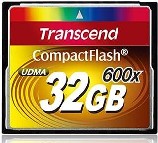 Transcend 紧凑闪存卡 600 x 32 GB 至尊版 PLUS