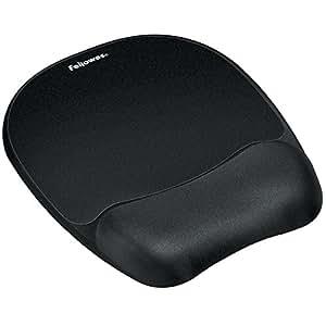 FEL9176501 - Fellowes *泡沫鼠标垫/腕部休息 - 黑色